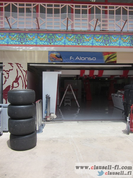 -Formula 1 - Season 2012 - - egp prep tuesday 16
