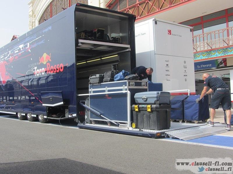 -Formula 1 - Season 2012 - - egp prep tuesday 21