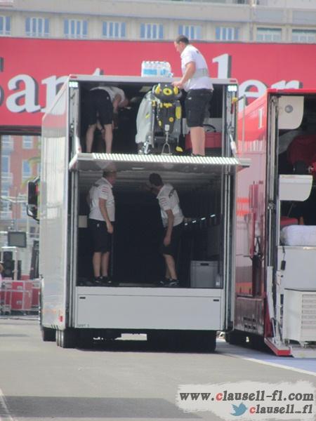 -Formula 1 - Season 2012 - - egp prep tuesday 23