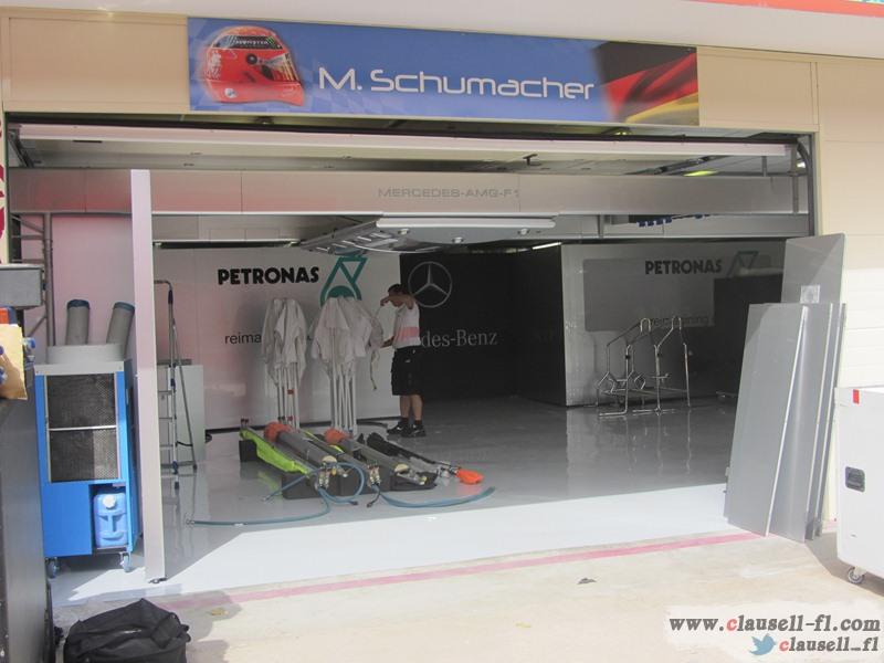 -Formula 1 - Season 2012 - - egp prep tuesday 25