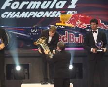 Vettel odebrał kolejne trofeum