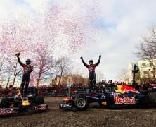 Red Bull podziękował mieszkańcom Milton Keynes