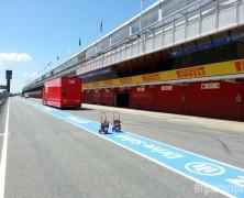 Przygotowania do GP Hiszpanii