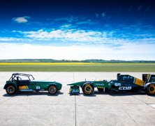 Prezentacja Team Lotus w Duxford