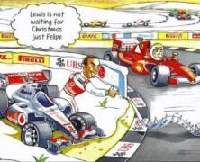 Bernie Ecclestone i jego świąteczne życzenia
