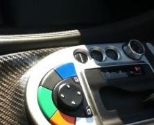 Wewnątrz samochodu bezpieczeństwa