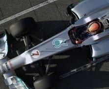 Mercedes AMGW04 przeszedł testy zderzeniowe