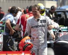 Schumacher mierzy w zwycięstwo