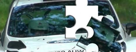 Poskładane z puzzli – Kubica testował z Fordem