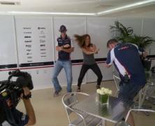 """Kierowcy Williamsa w stylu """"Gangnam"""""""