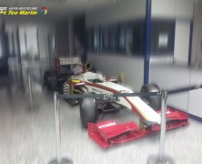Firma Pirelli kupiła jeden z bolidów zespołu HRT