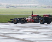 Lotus tested new upgrades at Duxford