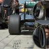 Nie podwójna felga, a opaska pomaga inżynierom Mercedesa zarządzać temperaturą opon