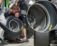Mercedes używa felg o podwójnych ścianach, aby obniżyć temperaturę opon