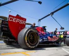 Toro Rosso z etatowymi kierowcami na testach w Bahrajnie