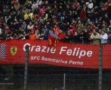 Ferrari pożegnało Massę