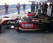 Pierwsze zdjęcie Lotusa E22