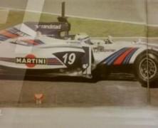Williams przyłapany w barwach Martini