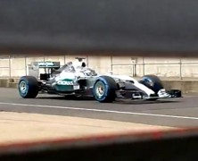 Pierwsze zdjęcia Mercedesa W06