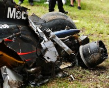 Silnik w bolidzie Alonso przetrwał wypadek