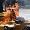 Remis w pojedynku kierowców Mercedesa, ale Magnussen był dziś gorącym tematem
