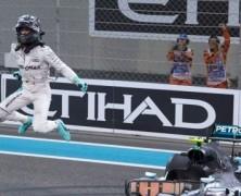 Rosberg ma swój pierwszy tytuł