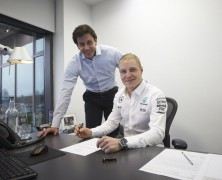 Bottas oficjalnie partnerem Hamiltona