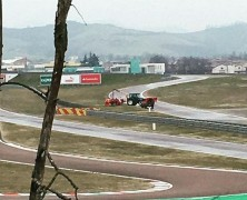 Vettel rozbił bolid podczas testu na torze Fiorano