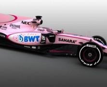 Force India w różowych kolorach