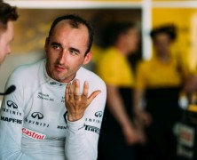 Kubica testował w Walencji w źle dopasowanym fotelu