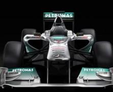 Pierwsza odsłona Mercedesa W02