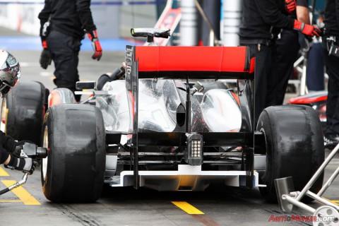 Tytanowy dyfuzor McLarena